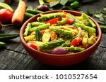 homemade authentic kerala... | Shutterstock . vector #1010527654