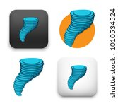 flat vector icon   illustration ... | Shutterstock .eps vector #1010534524