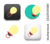 flat vector icon   illustration ... | Shutterstock .eps vector #1010534584