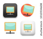 flat vector icon   illustration ... | Shutterstock .eps vector #1010534608