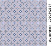 new color seamless pattern with ... | Shutterstock .eps vector #1010542939