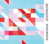 triangle vector background | Shutterstock .eps vector #1010546140