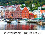 scenic summer panorama of the... | Shutterstock . vector #1010547526