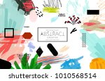 abstract universal art web... | Shutterstock .eps vector #1010568514