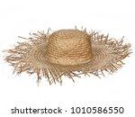 Vintage Straw Beach Hat Hat ...