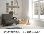inspiration of white minimalist ... | Shutterstock . vector #1010586664