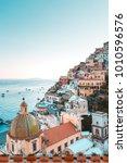 positano  amalfi coast ... | Shutterstock . vector #1010596576