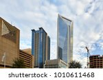 charlotte  north carolina  ... | Shutterstock . vector #1010611468