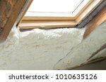 spray polyurethane foam surface ... | Shutterstock . vector #1010635126