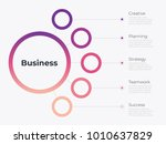shades of purple infographic... | Shutterstock .eps vector #1010637829