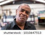 portrait of worker on factory... | Shutterstock . vector #1010647513