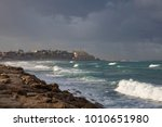 the old city of jaffa and the...   Shutterstock . vector #1010651980