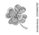 Coloring Book Clover  On St....