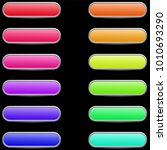colorful set of web buttons...   Shutterstock .eps vector #1010693290
