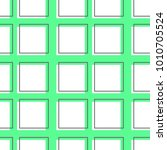 flat line square pattern vector  | Shutterstock .eps vector #1010705524