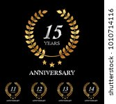 11   12   13   14   15 years... | Shutterstock .eps vector #1010714116