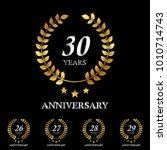 26   27   28   29   30 years... | Shutterstock .eps vector #1010714743