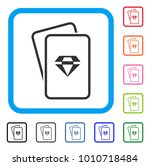 ruby gambling cards icon. flat...