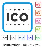 ico caption icon. flat gray...