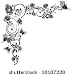 collect flower background ... | Shutterstock .eps vector #10107220
