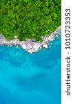 an aerial view of koh tao... | Shutterstock . vector #1010723353