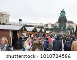 vienna  austria   23 december... | Shutterstock . vector #1010724586