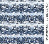 indigo vector tie dye seamless... | Shutterstock .eps vector #1010733760