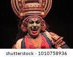 a kathakali performance in...   Shutterstock . vector #1010758936