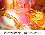 macro up of liquid substances... | Shutterstock . vector #1010762410