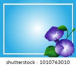 blue background template with... | Shutterstock .eps vector #1010763010