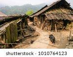 poor village north vietnam ... | Shutterstock . vector #1010764123