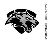 animal head   wolf   vector... | Shutterstock .eps vector #1010764999