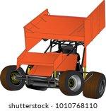 speedway racing car vector | Shutterstock .eps vector #1010768110