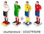 soccer world cup a group of... | Shutterstock . vector #1010795698