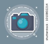 photographic camera icon   Shutterstock .eps vector #1010802214