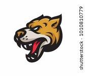 animal head   dog   vector logo ... | Shutterstock .eps vector #1010810779