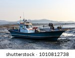 Fishing Boat Landscape On The...