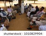group of african men and women...   Shutterstock . vector #1010829904