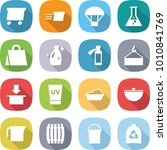 flat vector icon set   delivery ... | Shutterstock .eps vector #1010841769