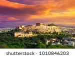 Acropolis With Parthenon. View...
