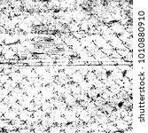 grunge black and white pattern. ...   Shutterstock . vector #1010880910