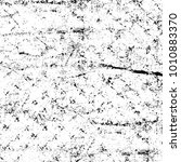 grunge black and white pattern. ... | Shutterstock . vector #1010883370
