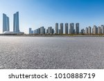 panoramic skyline and buildings ... | Shutterstock . vector #1010888719