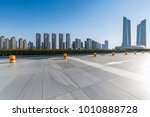 panoramic skyline and buildings ... | Shutterstock . vector #1010888728