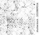grunge black and white pattern. ... | Shutterstock . vector #1010889016