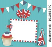 United Kingdom Party Card With...