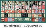 vintage style vector hand drawn ... | Shutterstock .eps vector #1010898580
