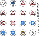line vector icon set  ... | Shutterstock .eps vector #1010909830