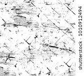 grunge black and white pattern. ...   Shutterstock . vector #1010912494