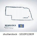 nebraska national vector... | Shutterstock .eps vector #1010912839